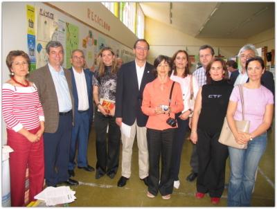 Presencia del alcalde de Murcia en el premio Escuelas Verdes