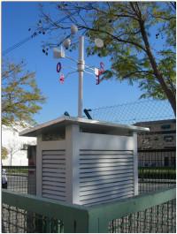 Estación de recogida datos meteorológicos
