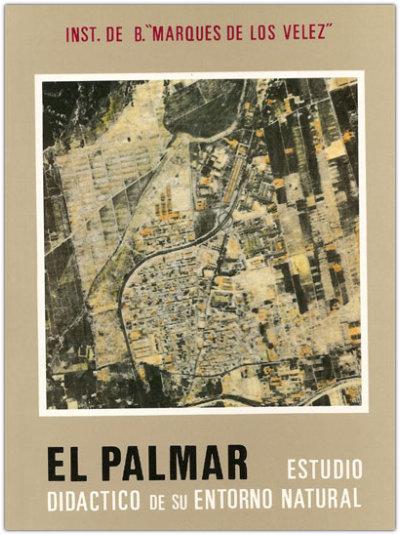 Portada del libro El Palmar, estudio didáctivo de su entorno natural